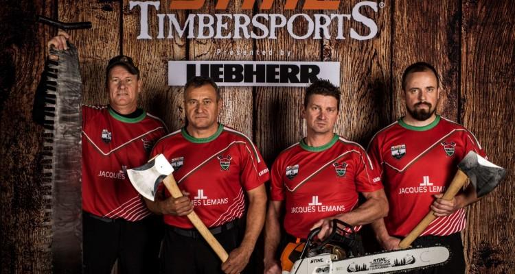 Hatalmasat küzdöttek a magyar sportolók a STIHL Timbersports világbajnokságon