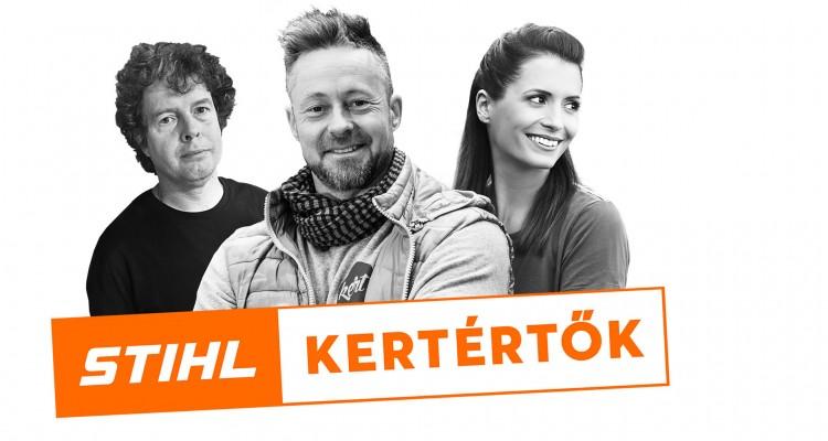 Indul a STIHL Podcast csatornája, a KertÉRTŐK!